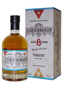 Corriemhor Cigar Reserve 8 Years old