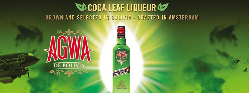 AGWA DE BOLIVIA – Likör aus Coca Blättern