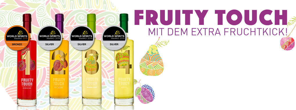 FRUITY TOUCH – Extra fruchtiger Obstbrand