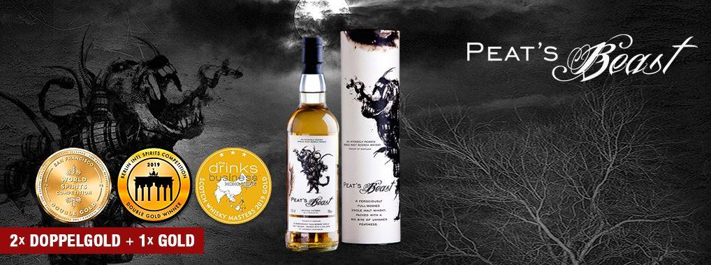 PEAT'S BEAST – Single Malt Whisky