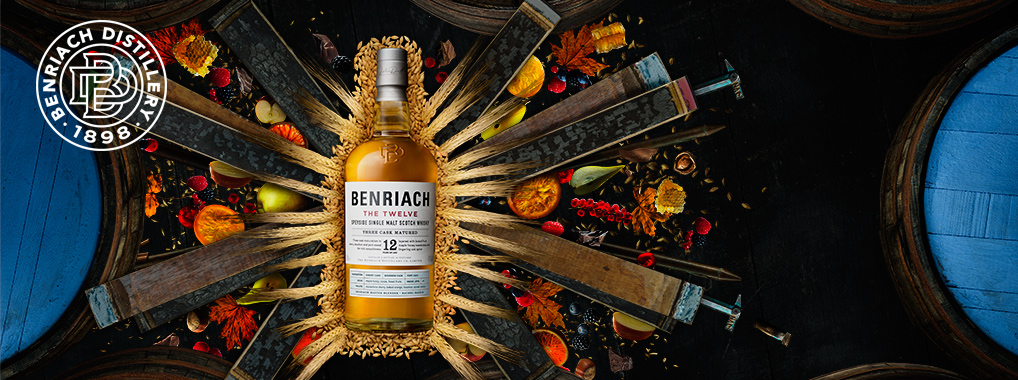 BENRIACH – ab Oktober im neuen Design